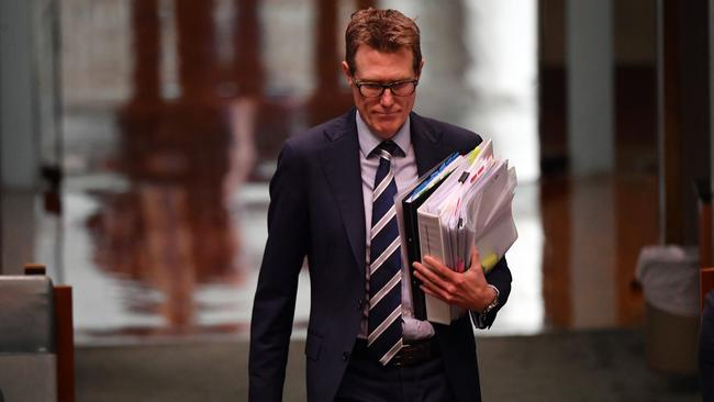 'Everyone involved in the family law system has known for years that the system is broken and needs to be reformed as a ­priority': Attorney-General Christian Porter. Picture: Getty Images