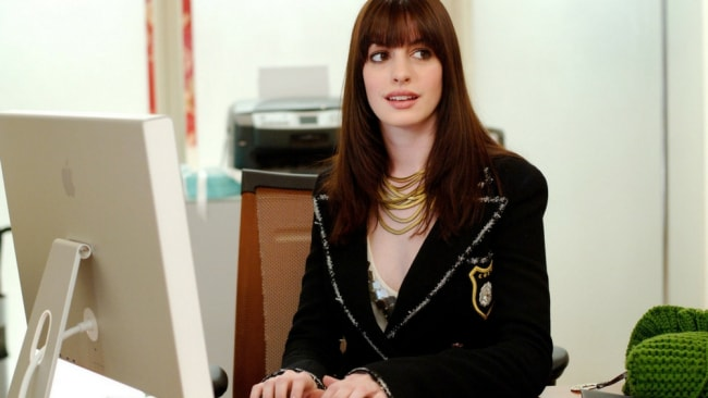 Make like Andy and get less busy, and more confident. Photo: 'The Devil Wears Prada'