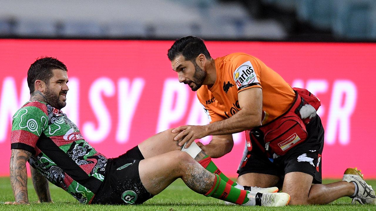 Adam Reynolds injured just as he was set to be named with Cody Walker as NSW Blues halves