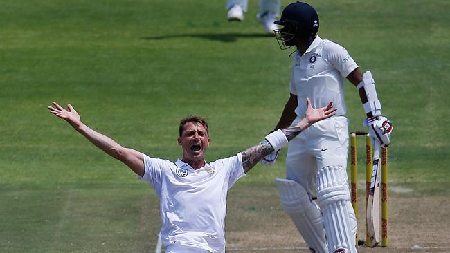 Dale Steyn hasn't played since the India series in January.