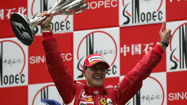 Michael Schumacher holds the record of seven drivers' world championships.