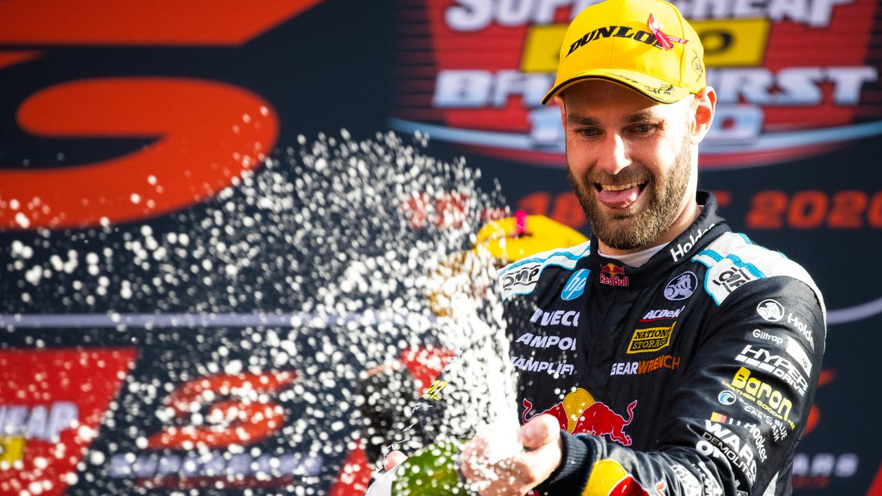Shane van Gisbergen took out the win. (Photo by Daniel Kalisz/Getty Images)