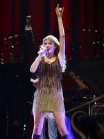 <p>Taylor Swift performs live on stage at The Burswood Dome on March 2, 2012 in Perth, Australia. (Photo by Paul Kane/Getty Images)</p>