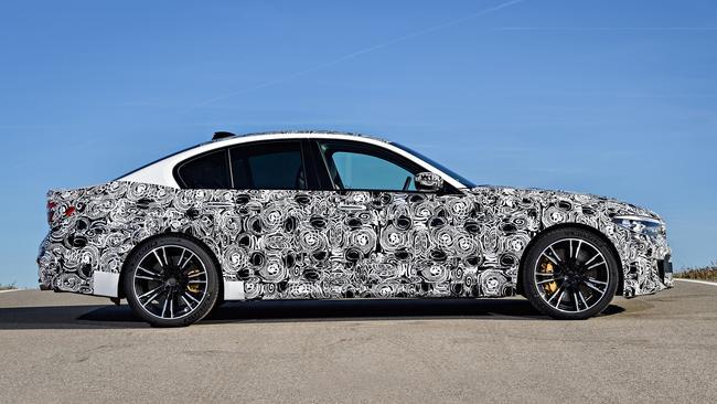 BMW M5 predrive.