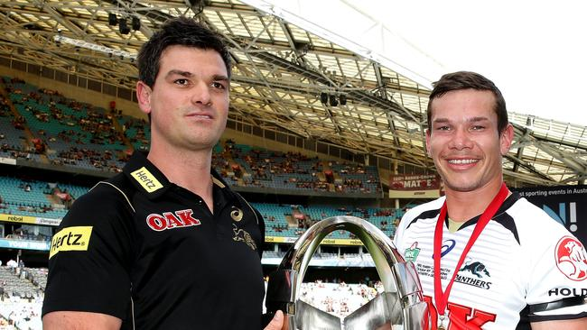 Ciraldo will coach Penrith for the rest of the season. Picture Gregg Porteous.