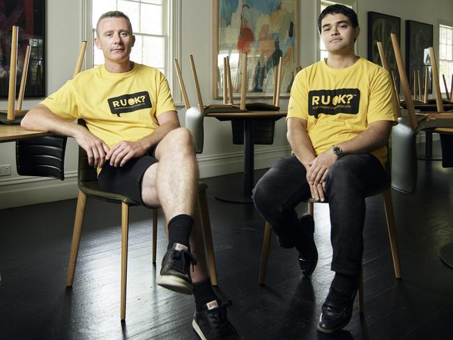 R U OK? Charity Collaboration with chefs Dan Hunter and Sam Pinzone. Picture: Kristoffer Paulsen
