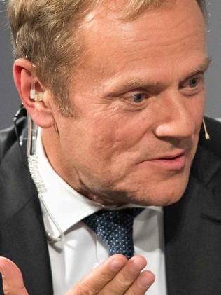 President of EU Council Donald Tusk. Picture: AFP/Armin Weigel