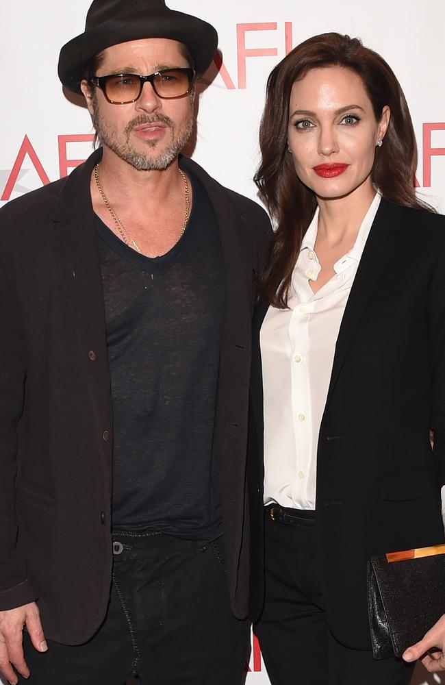 Brad Pitt and Angelina Jolie were married for two years. Picture: Jason Merritt/Getty Images