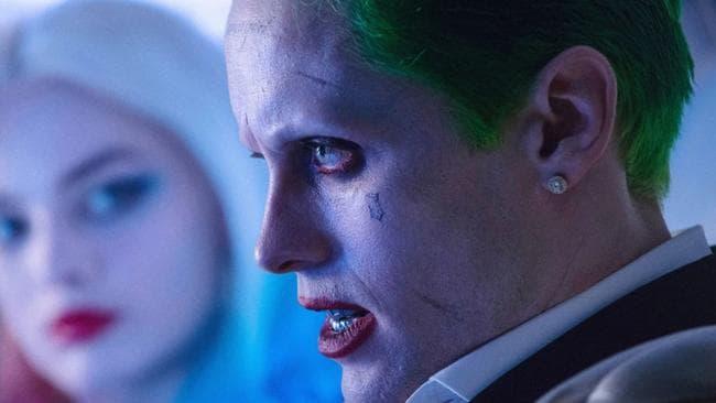 Jared Leto in Suicide Squad.