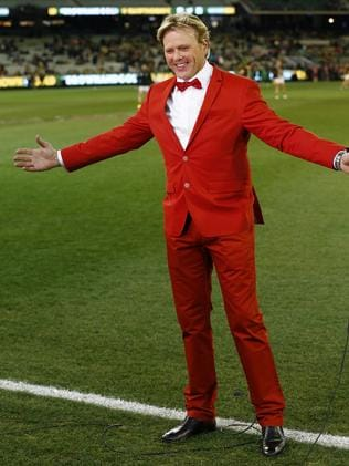 Brereton's resume is stacked. From AFL championships to hosting on Getaway, his career adventures are have been bold, much like his bright red suit.