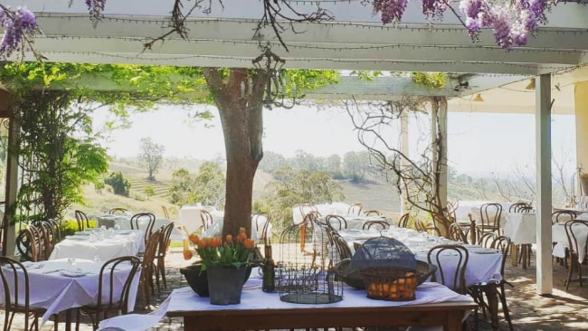 It's difficult to describe just how beautiful Bistro Molines is. This photo almost captures it. Photo: Bistro Molines Instagram
