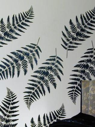 Stencil Gallery Small Fern Stencil $67.40 Fern design Picture: Supplied