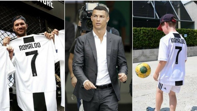 Ronaldo's power was evident at his club unveiling.