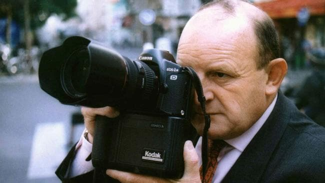 The body of press photographer James Andanson was found in a burnt-out car in May 2000. Picture: Supplied.