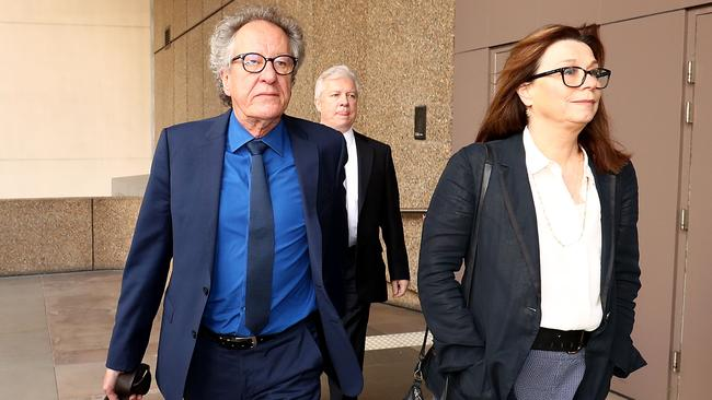Rush is seeking millions of dollars in damages, a court heard today. Picture: Mark Metcalfe