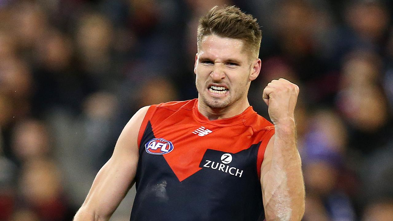 The Demons will want a big return for Jesse Hogan. Pic: Michael Klein