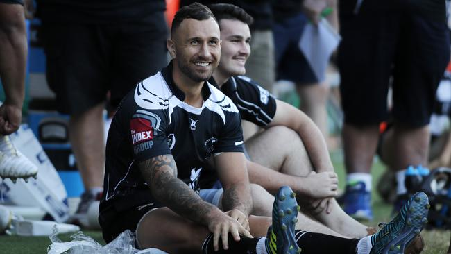 Quade Cooper is happy playing for Souths in Brisbane club rugby