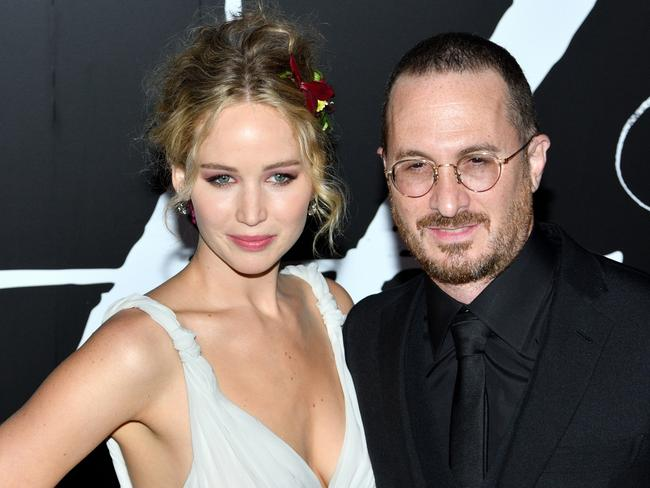 Lawrence and Aronofsky worked on mother! together. Picture: SIPA USA/Splash News