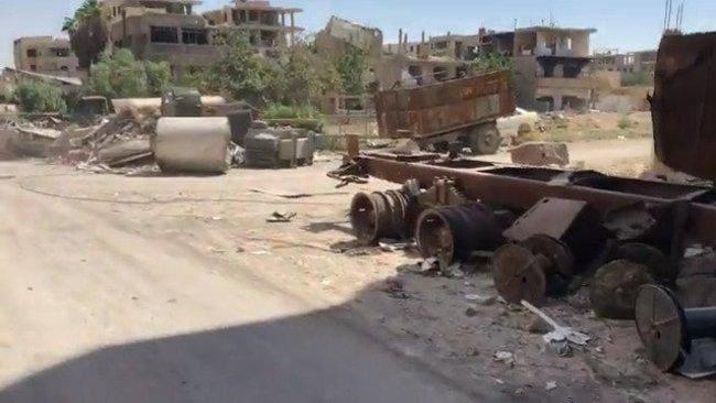 Devastation in Syria's Eastern Ghouta Captured in ICRC Video