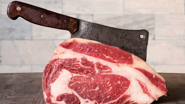 Red meat. Source: iStock