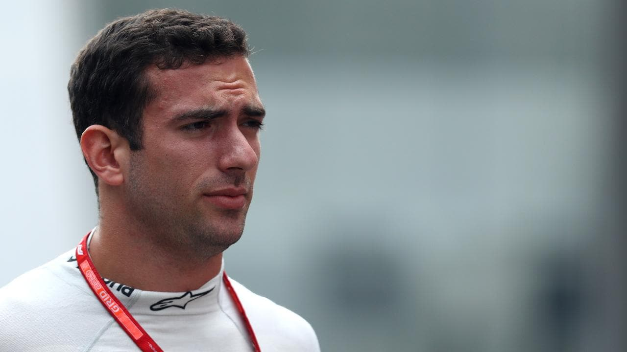 Nicholas Latifi is likely to fill the second Williams seat. Picture: Dean Mouhtaropoulos