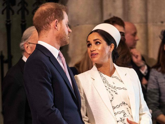 Insider reports say that Meghan is quite the taskmaster Picture: AFP