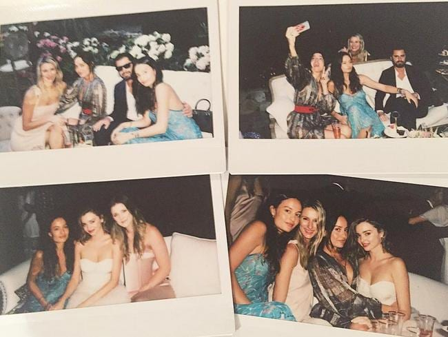 Mary-Lou Bartoli posted this collection of snaps from the party on Instagram — but soon took them down.