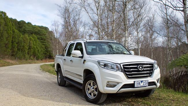 Great Wall is one of the better known Chinese brands in Australia.