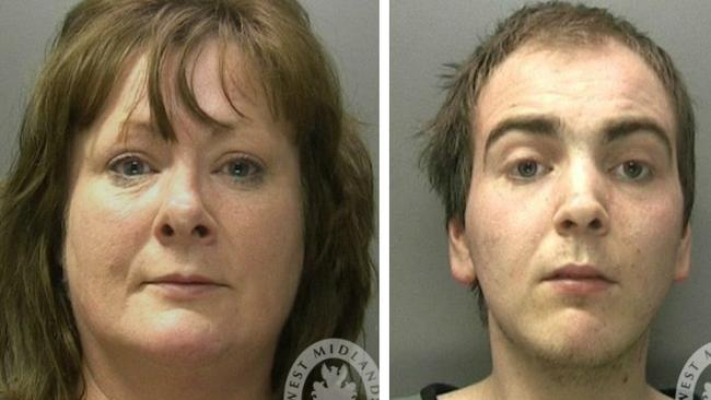 Elanie Potts and Joshua Potts. Picture: West Midlands Police website