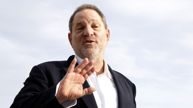 Weinstein was sacked from his eponymous company this week. Photo: AFP/Valery Hache