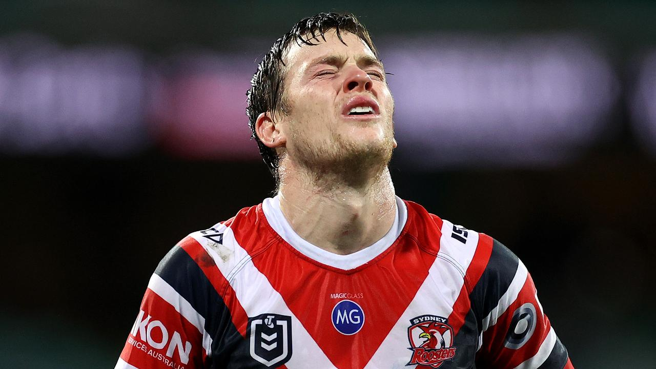 Luke Keary did not get any Dally M points. Picture. Phil Hillyard