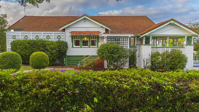 This house at 150 Adelaide Street East, Clayfield, sold for $7m.