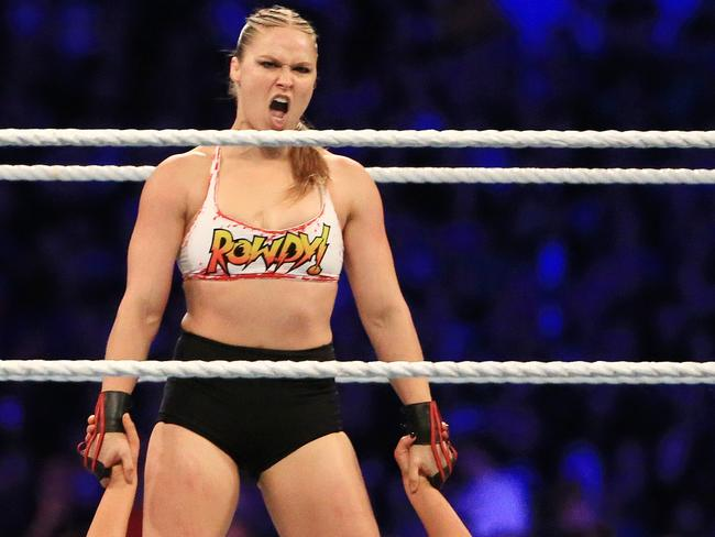 Is Rousey's role as a full-time WWE star coming to an end?