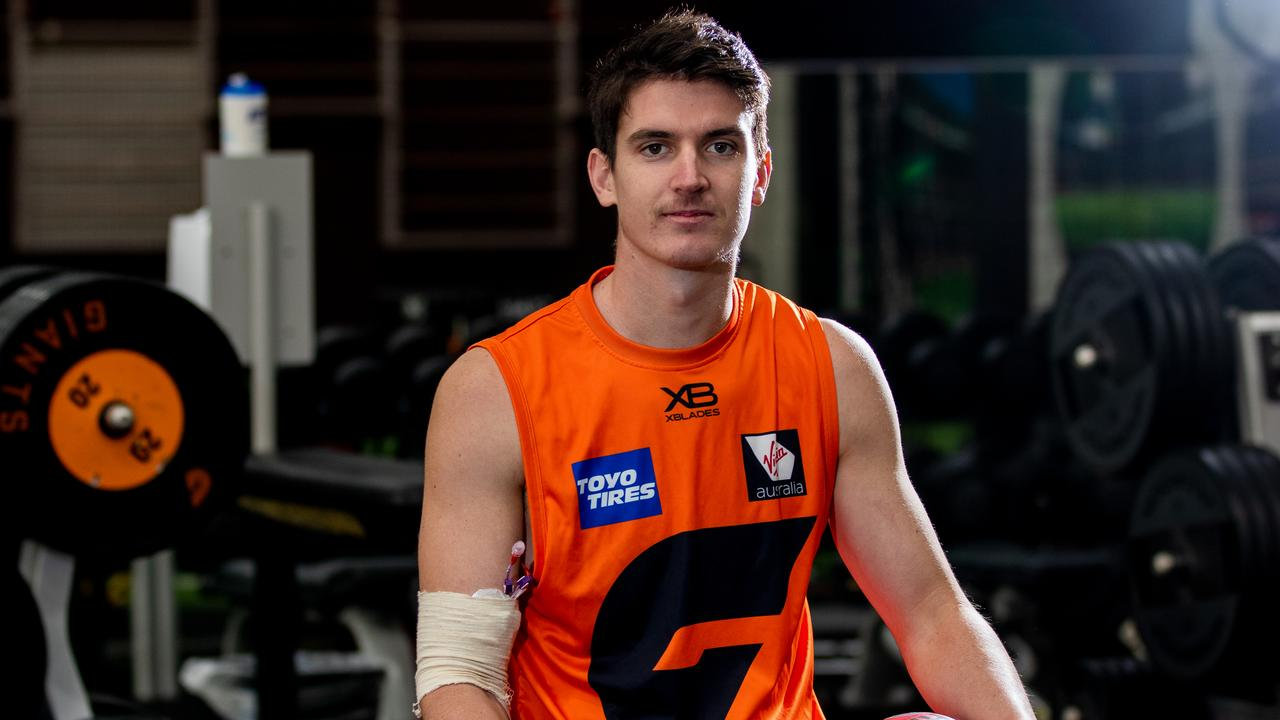 Sam Taylor is set to join the Giants in Queensland. Picture: Giants Media