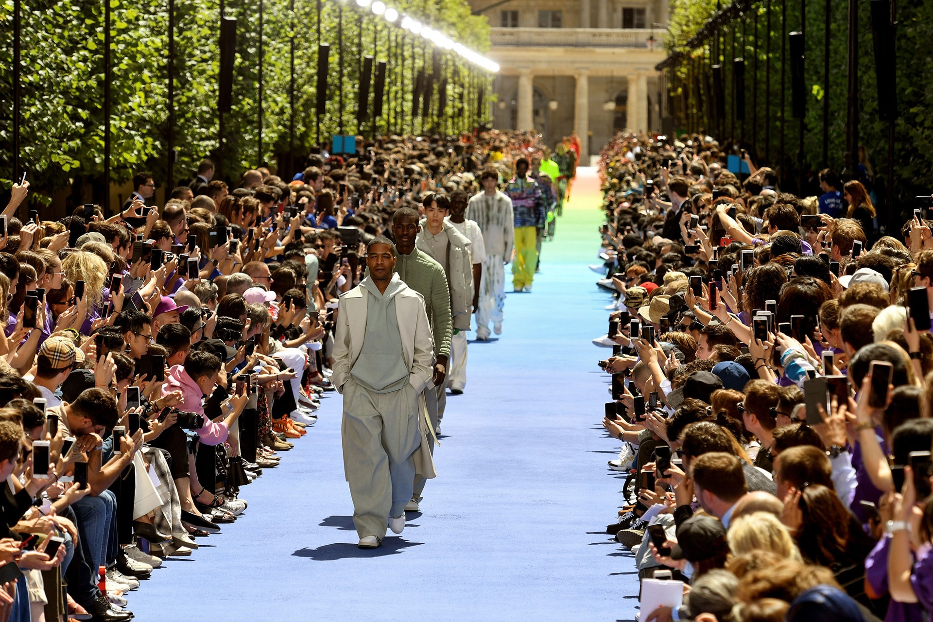 Everything to know about Virgil Abloh's first-ever show for Louis Vuitton