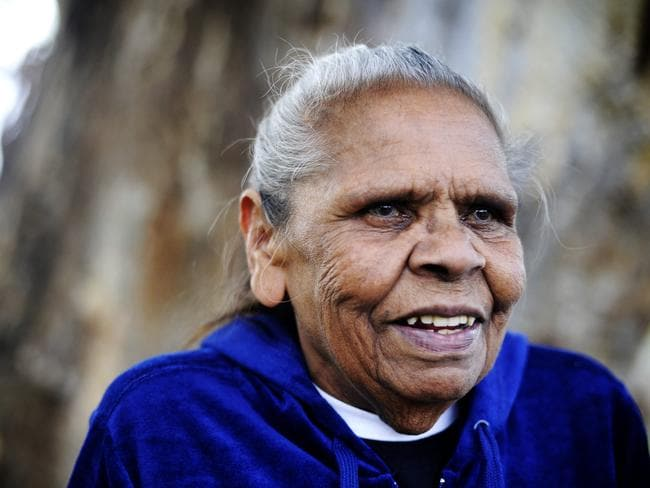 Eunice Wright was one of the Aboriginal Elders chosen to accept the apology for the stolen generations from Kevin Rudd.