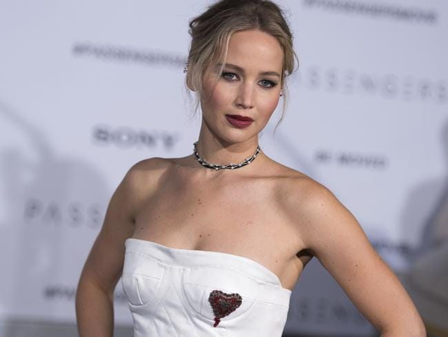 Get ready to be seduced by Jennifer Larence in Red Sparrow. Picture: AFP
