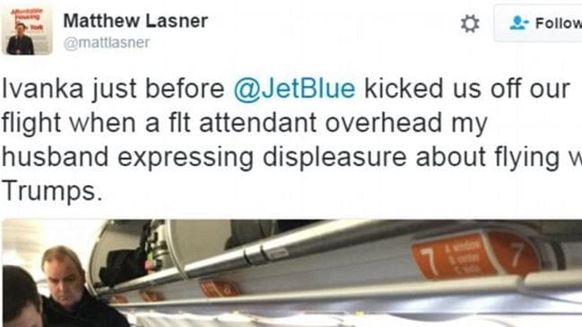 Matthew Lasner tweeted this comment before later deleting it.