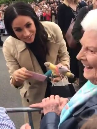 Meghan meets Mabel in Melbourne on day three.