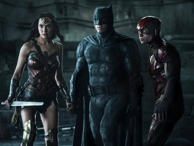 Scene from the Warner Brothers superhero film Justice League. Picture: Supplied