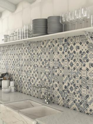 Patterned tiles are having a moment.