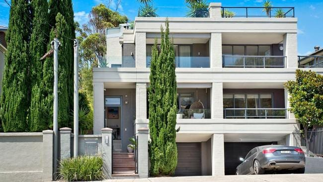 The Moore St, Coogee, home is back on the market.
