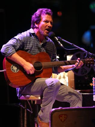 Eddie Vedder sings Magical Mystery Tour for Beat Bugs. Picture: Richard Dobson.