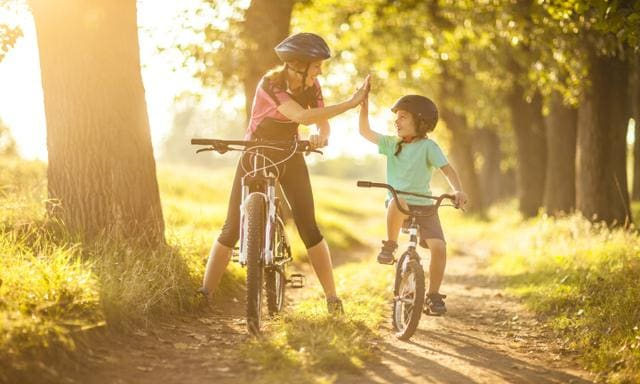 Keeping fit and healthy with the kids is easier than you think