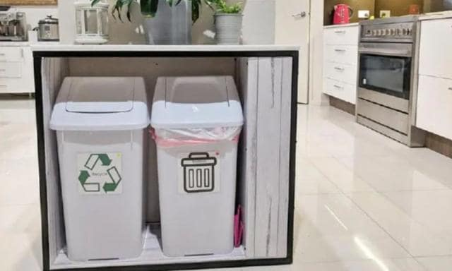 Now those are some classy bins. Source: Facebook
