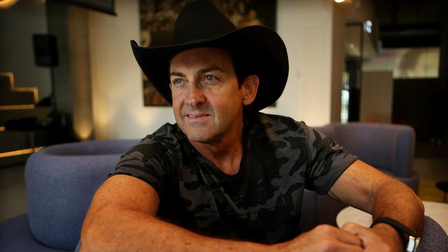 Labour of love ... Former Australian of the Year Lee Kernaghan turned diggers' letters into song. Picture: Kristi Miller.