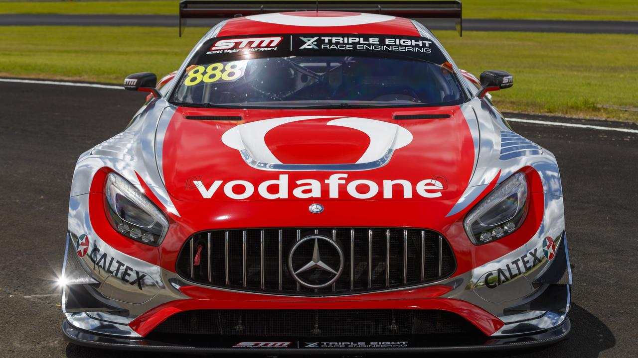 This is the car the trio will be driving at Bathurst.