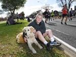 City-Bay participants at the 3km mark. Picture: Keryn Stevens/AAP