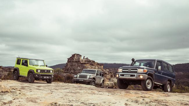 These three aren't known for their safety or on-road driving ability. Pics by Thomas Wielecki