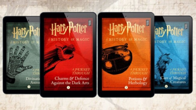 The four ebooks will be out at the end of June. Image: Pottermore